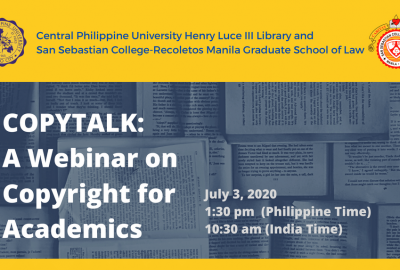 COPYTALK: Copyright for Academics webinar