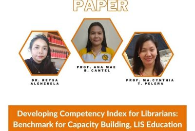 CPU Library Director, LIS faculty win Best Paper Award at EALC 2020