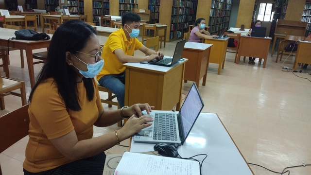 librarians, training, central philippine university,henry luce iii library