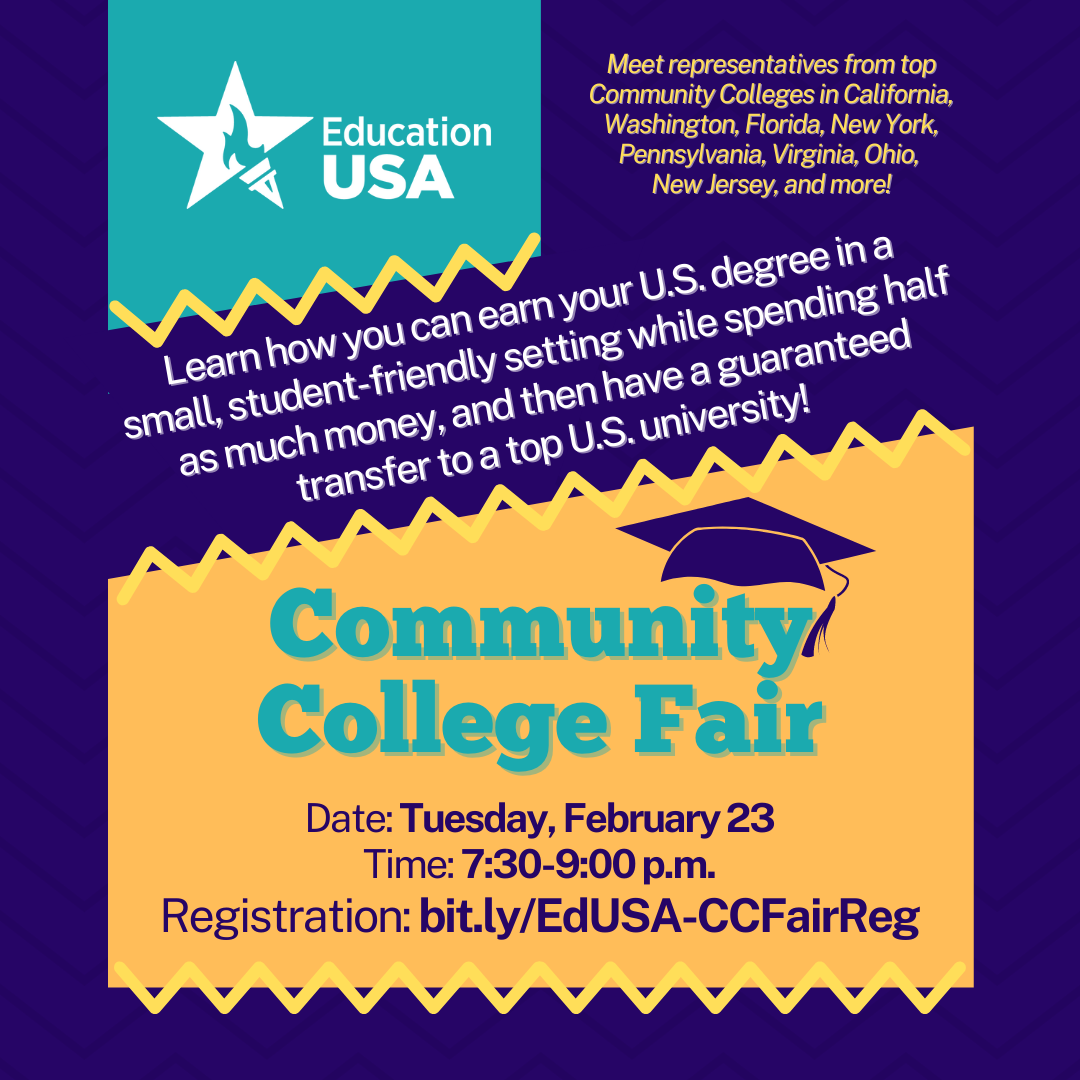 Community College Fair webinar