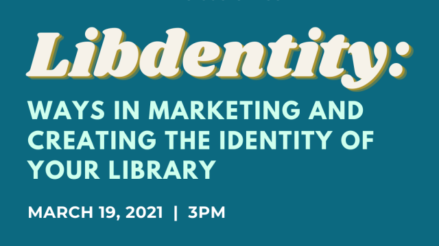 Webinar for Librarians: Libdentity