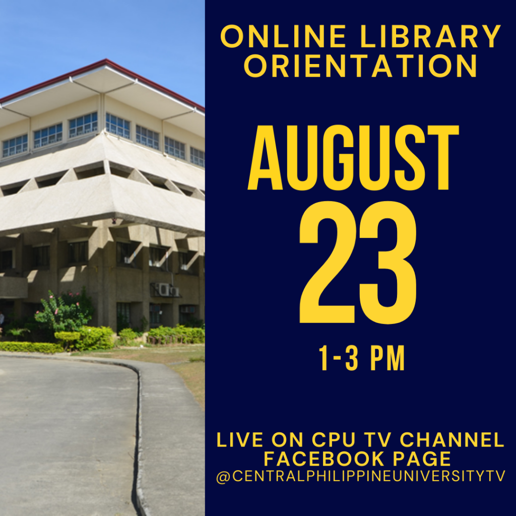 Library Orientation 2021